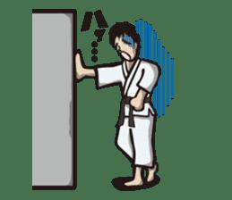Kyokushin Karate -White- sticker #224335