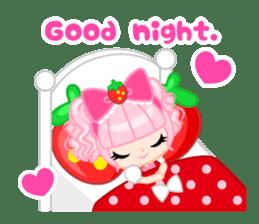 Strawberry&Rabbit sticker #224498