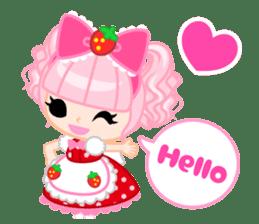 Strawberry&Rabbit sticker #224499