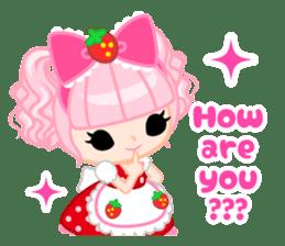 Strawberry&Rabbit sticker #224501
