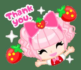 Strawberry&Rabbit sticker #224503