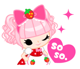 Strawberry&Rabbit sticker #224504