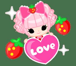 Strawberry&Rabbit sticker #224506