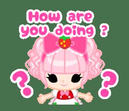 Strawberry&Rabbit sticker #224507