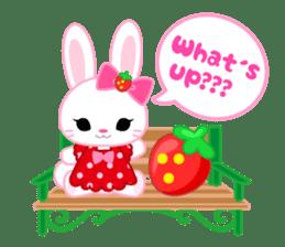 Strawberry&Rabbit sticker #224508