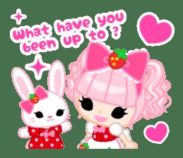Strawberry&Rabbit sticker #224509