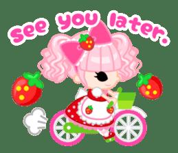 Strawberry&Rabbit sticker #224512