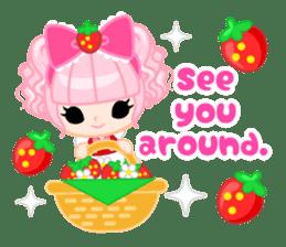 Strawberry&Rabbit sticker #224513