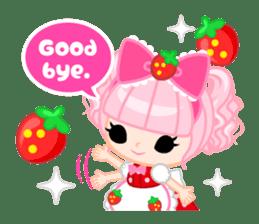 Strawberry&Rabbit sticker #224514