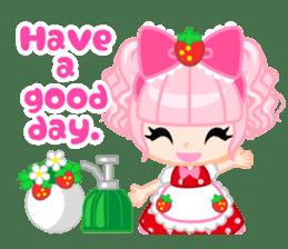Strawberry&Rabbit sticker #224516