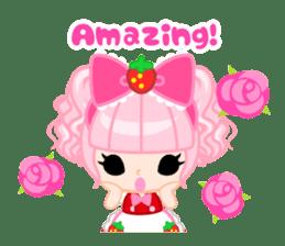 Strawberry&Rabbit sticker #224520