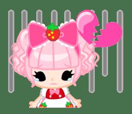 Strawberry&Rabbit sticker #224521