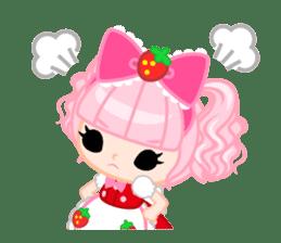 Strawberry&Rabbit sticker #224522