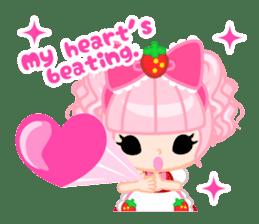Strawberry&Rabbit sticker #224524