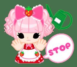 Strawberry&Rabbit sticker #224525