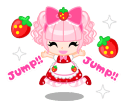 Strawberry&Rabbit sticker #224526