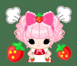 Strawberry&Rabbit sticker #224527