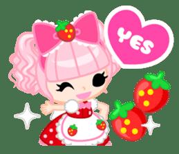 Strawberry&Rabbit sticker #224528