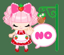 Strawberry&Rabbit sticker #224529