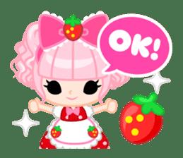 Strawberry&Rabbit sticker #224530
