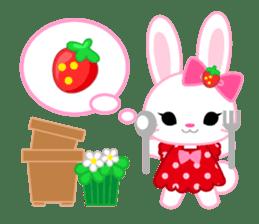 Strawberry&Rabbit sticker #224531
