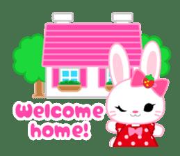 Strawberry&Rabbit sticker #224532