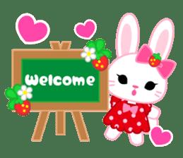 Strawberry&Rabbit sticker #224534