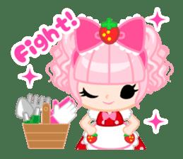 Strawberry&Rabbit sticker #224535