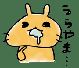 bunny of moqsama! sticker #225297