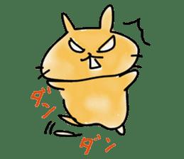 bunny of moqsama! sticker #225298