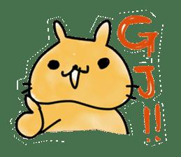 bunny of moqsama! sticker #225309