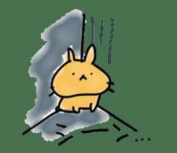 bunny of moqsama! sticker #225310