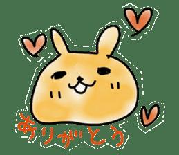 bunny of moqsama! sticker #225318