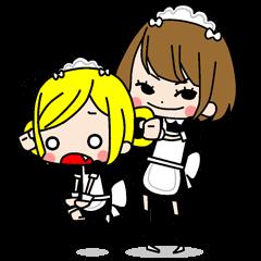 "maid girls ""mirinia."""
