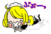 "maid girls ""mirinia."" sticker #230186"