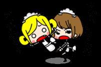 "maid girls ""mirinia."" sticker #230196"