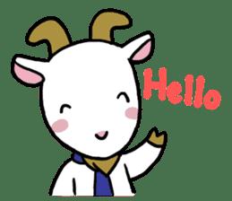 Little goat, May & Rio sticker #230521