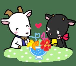 Little goat, May & Rio sticker #230522