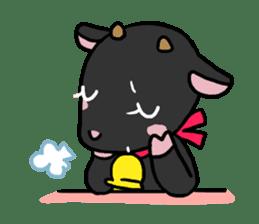 Little goat, May & Rio sticker #230524