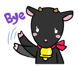 Little goat, May & Rio sticker #230527