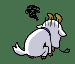 Little goat, May & Rio sticker #230530