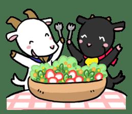 Little goat, May & Rio sticker #230540