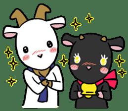 Little goat, May & Rio sticker #230542