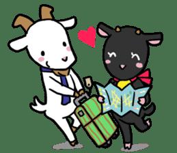 Little goat, May & Rio sticker #230545