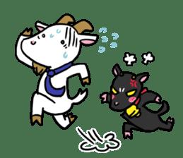 Little goat, May & Rio sticker #230551