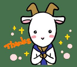Little goat, May & Rio sticker #230555