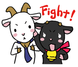 Little goat, May & Rio sticker #230560