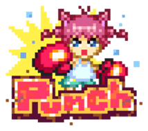 Pixel Art Land sticker #231055