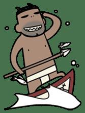 Monster papa(Midlife crisis) sticker #232670