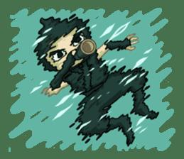 Shinobi Games Line Stickers! sticker #233009